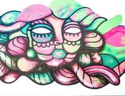 Amara Por Dios work in progress in London  UK  #AmaraPorDios #Graffiti #StreetArt #London #UK #England