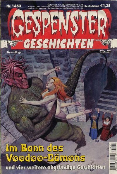 Cover for Gespenster Geschichten (Bastei Verlag, 1974 series) #1463