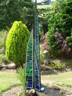 Attirant Stained Glass Garden Sculptures   Google Search Stained Glass Panels,  Stained Glass Art, Fused