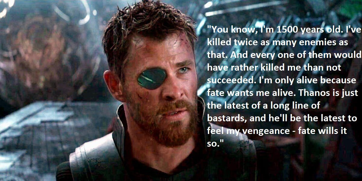 Thor The Wise One Of My Favourite Quotes From Thor In Iw