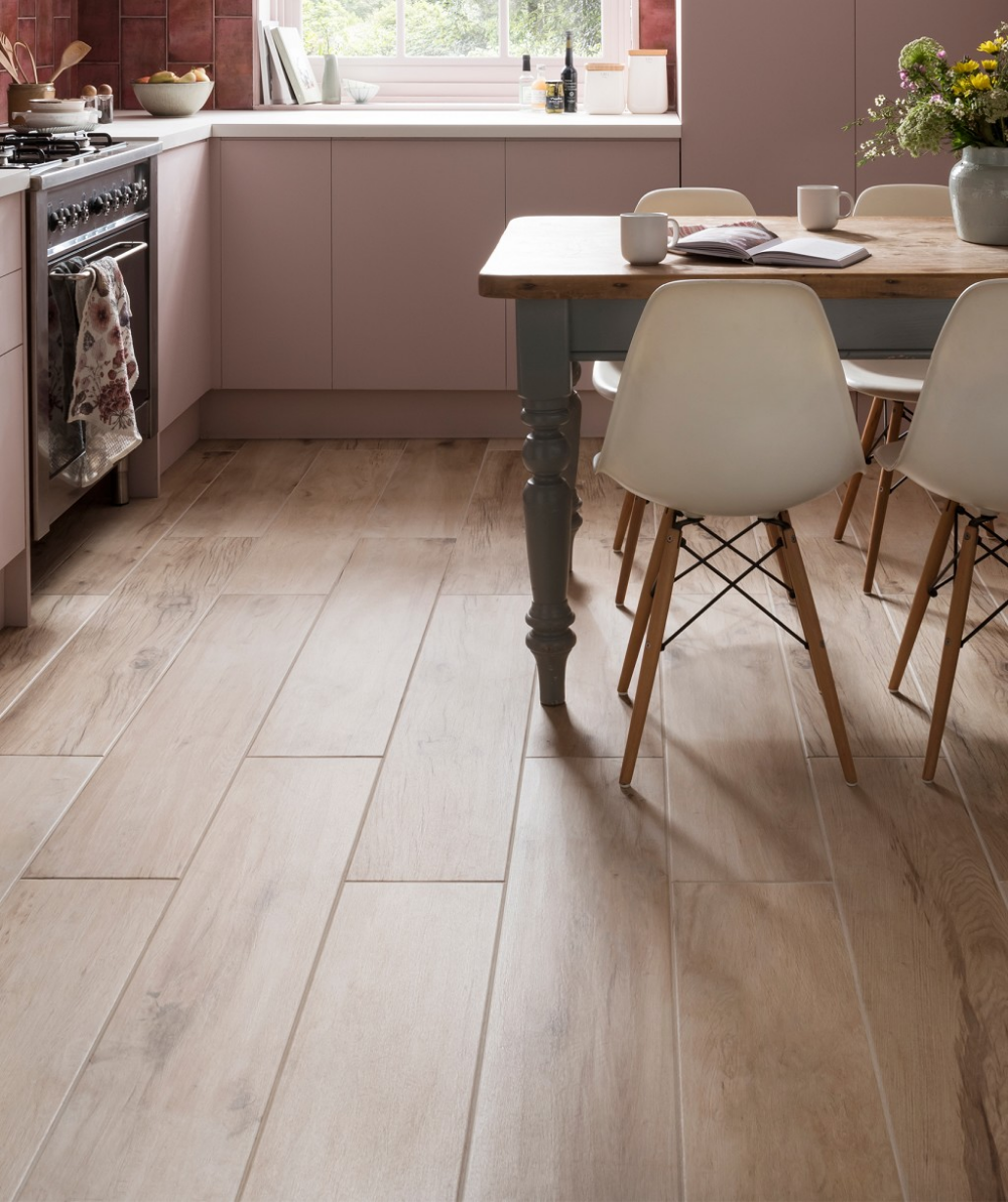 Longmore Natural Wood Effect Tiles Topps Tiles Customer Photos