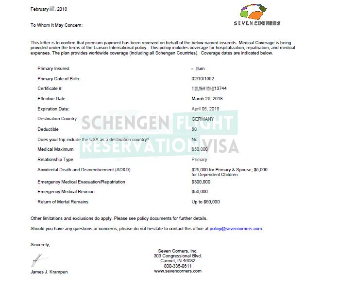 Travel Insurance For Visa Application Travelinsurance