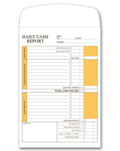 Keep Track Of Daily Cash Activities Durable Envelopes Have Pre Printed Columns To List And Balance Transactions Plus Templates Printable Free Templates Cash