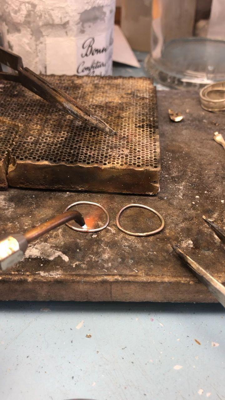 Beautiful tutored metal soldering tips rush today