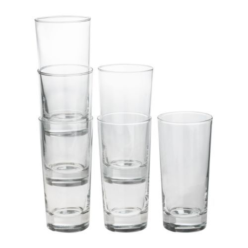godis glass clear glass water glassclear glassikea