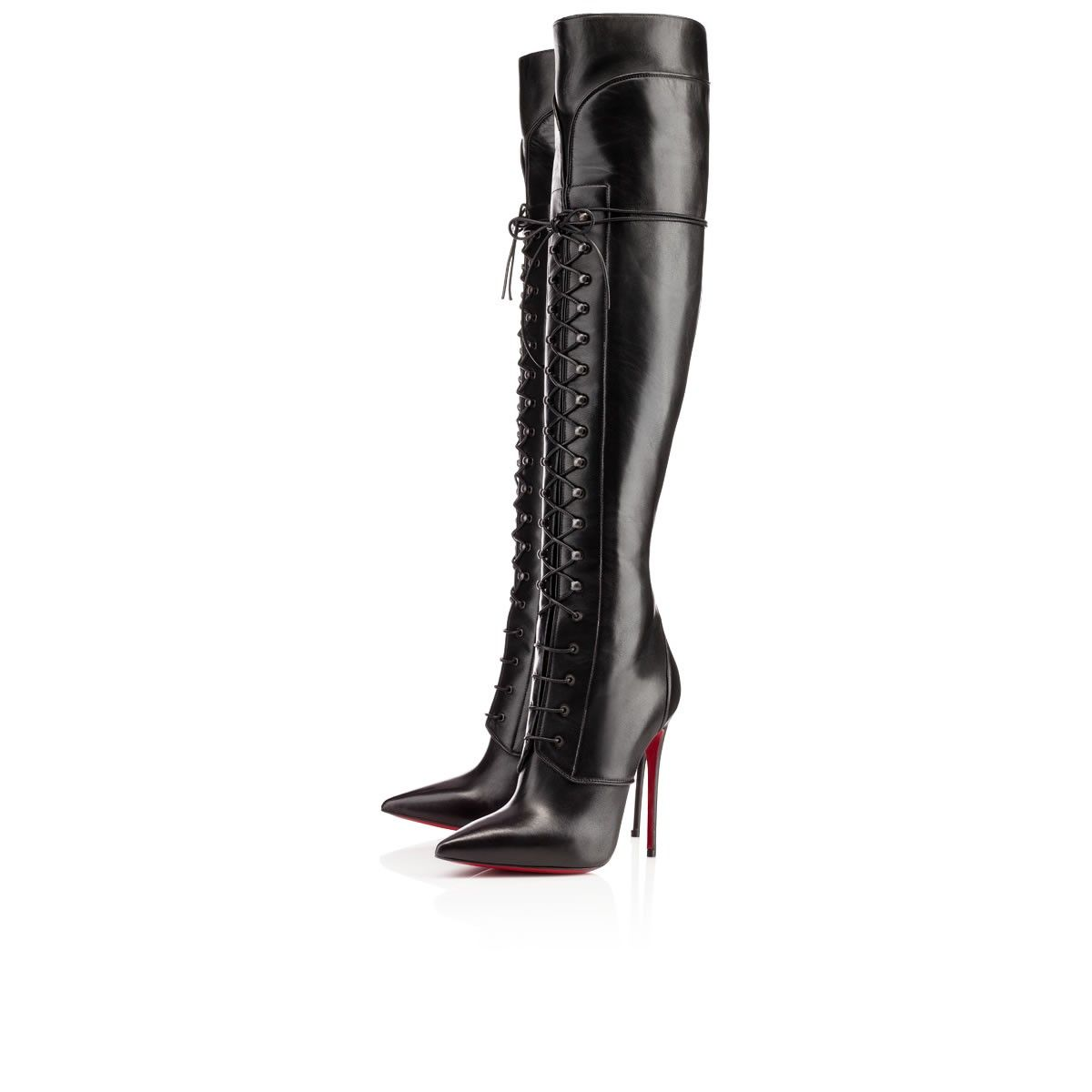Mado Boot 120mm Black Leather