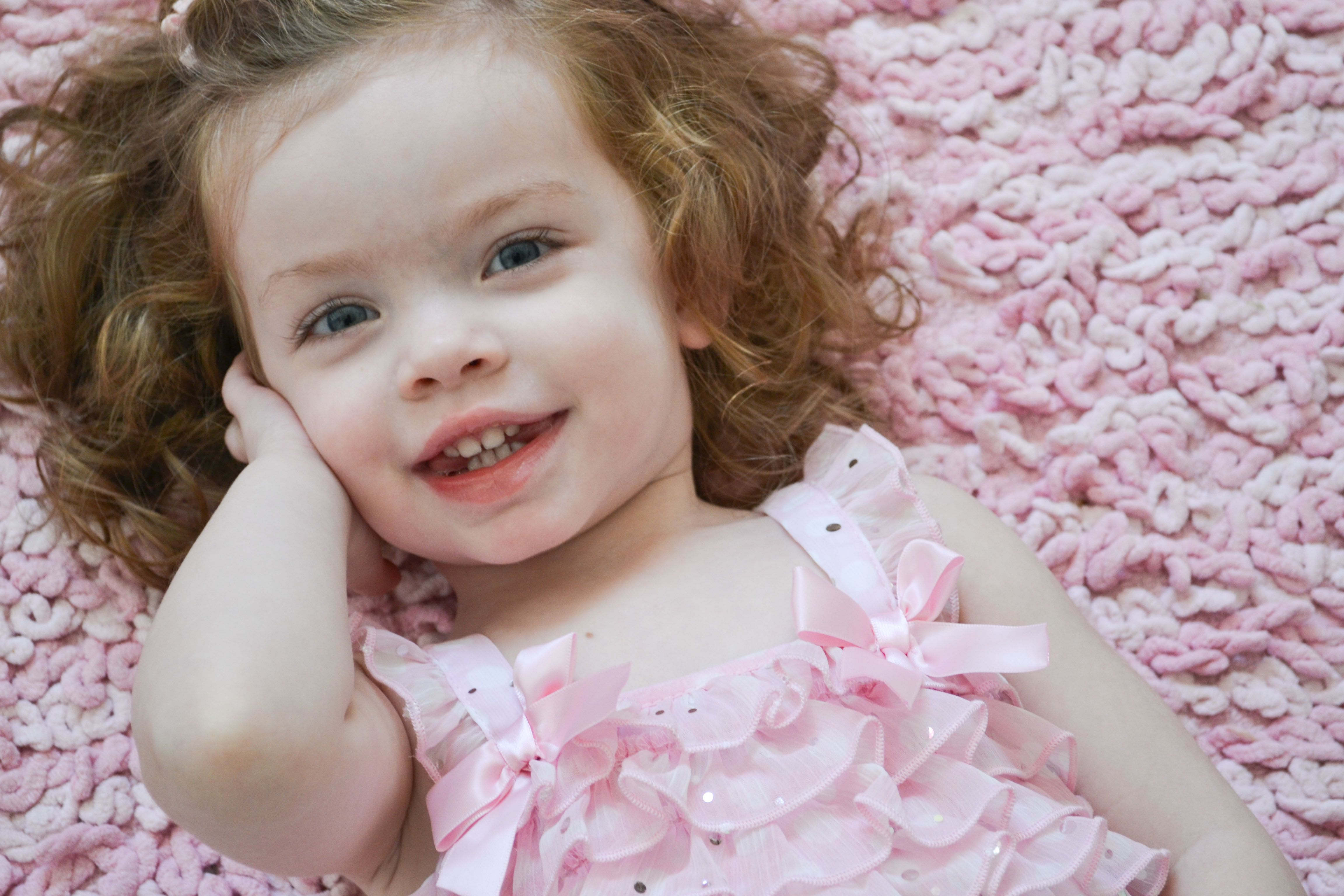 Olivia's 2nd Birthday photo shoot in Bel Air, Maryland