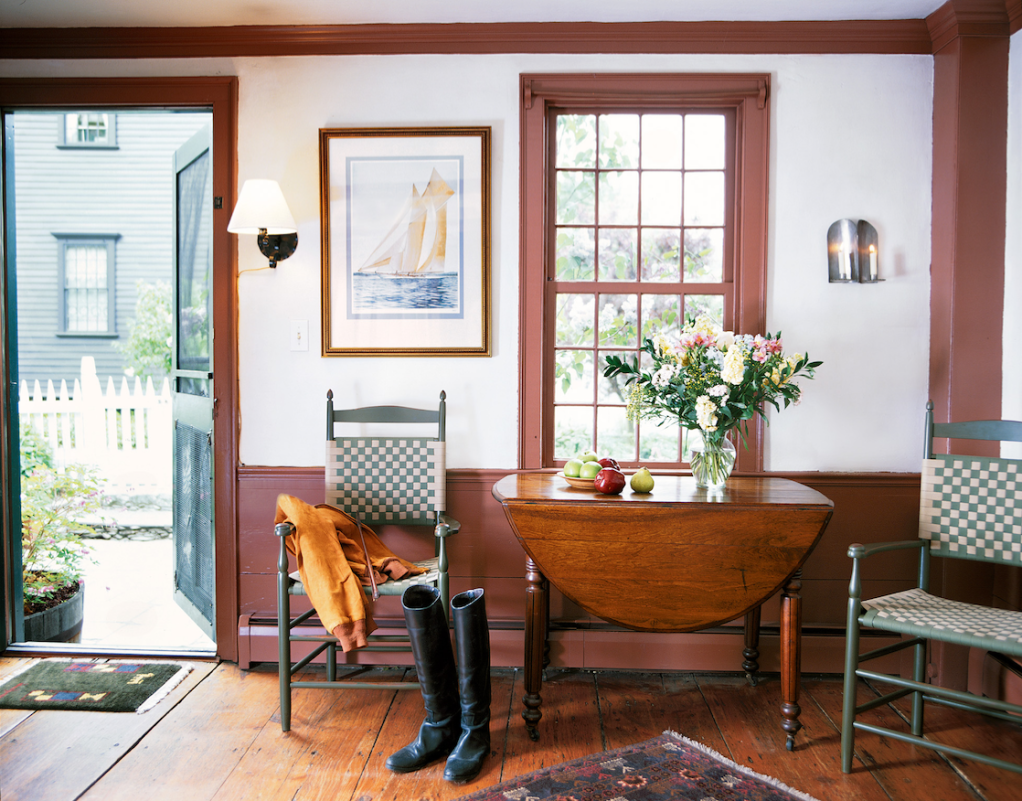 Painted Farmhouse Kitchen Table
