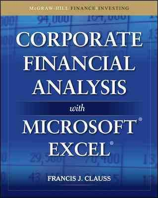 Corporate Financial Analysis With Microsoft Excel Products - spreadsheet software definition and examples