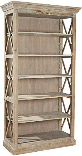 New Sloane Elliot Se0287 Nilah Bookcase Natural Wood Finish Online Shopping