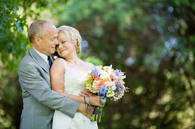 Wedding Gift Ideas For Mature Couple : Older Couple Wedding on Pinterest Fall Groomsmen, Older Bride and ...