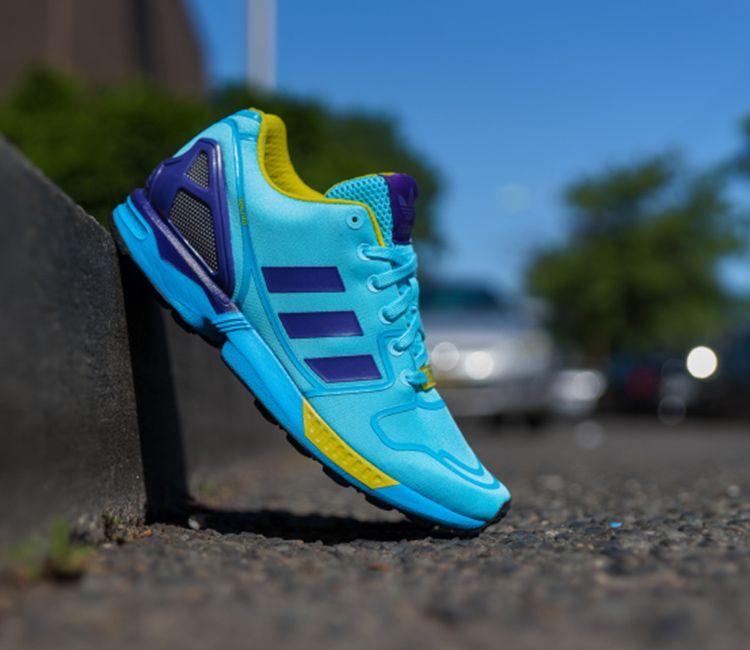 """27e563311d2fe adidas Originals ZX Flux Techfit """"Aqua"""""""