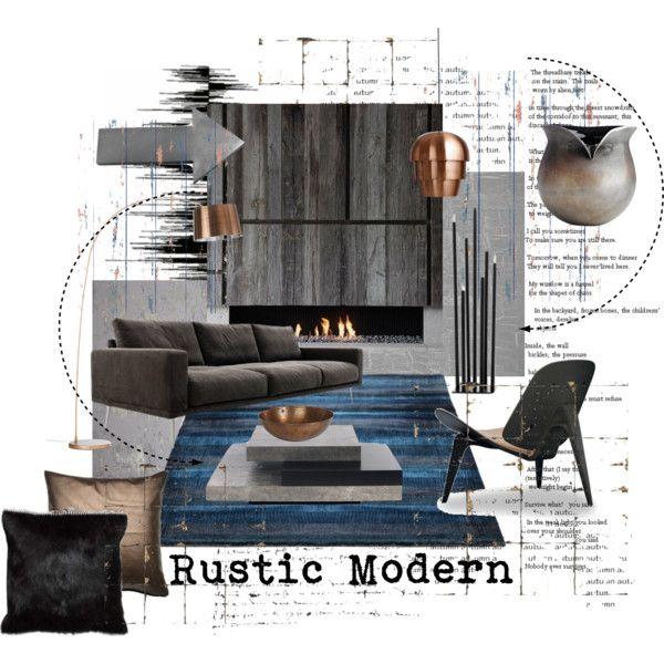 Rustic And Modern In 2020 Interior Design Presentation Interior