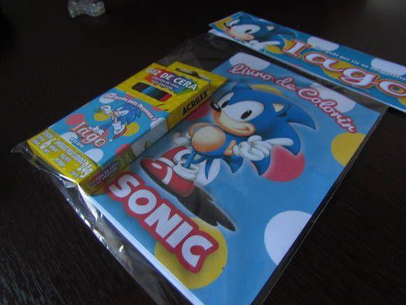 Title Com Imagens Aniversario Do Sonic Como Fazer Um Livro