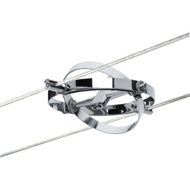 Spots Et Suspensions Pour Cable Metal Chrome Chrome Mat Paulmann Suspension Design Suspension Spot Etanche