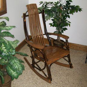 A Amp L Furniture Hickory Rocker Outdoor Rocking Chairs At