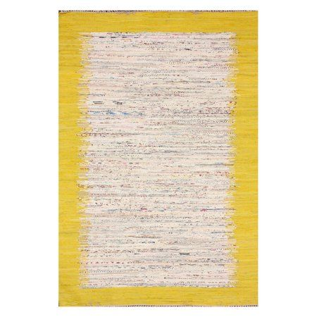 nuLOOM Flatweave Tasha Cotton Area Rug or Runner, Yellow