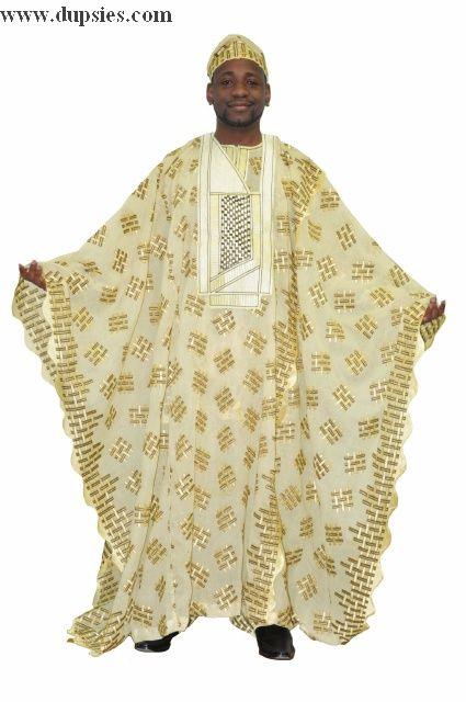 c24631cf16029 Nigerian style lace with contrast Nigerian style embroidery for men ...