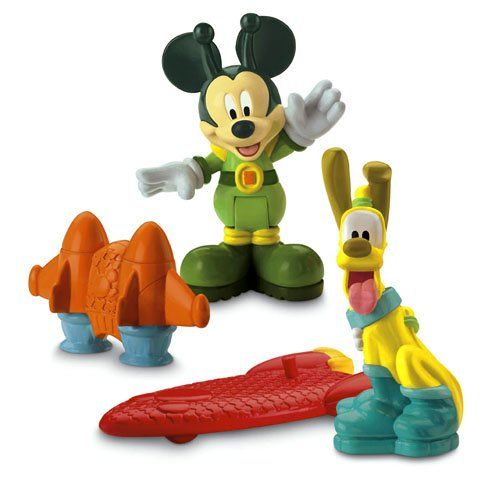 14 38 Disney Mickey Mouse Clubhouse Martian Mickey Pluto