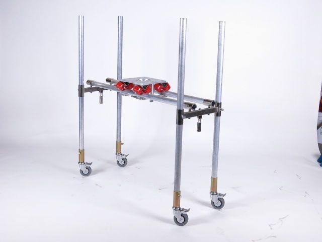 The Woody Dolly Slider Made By Wooden Nickel Lighting Inc