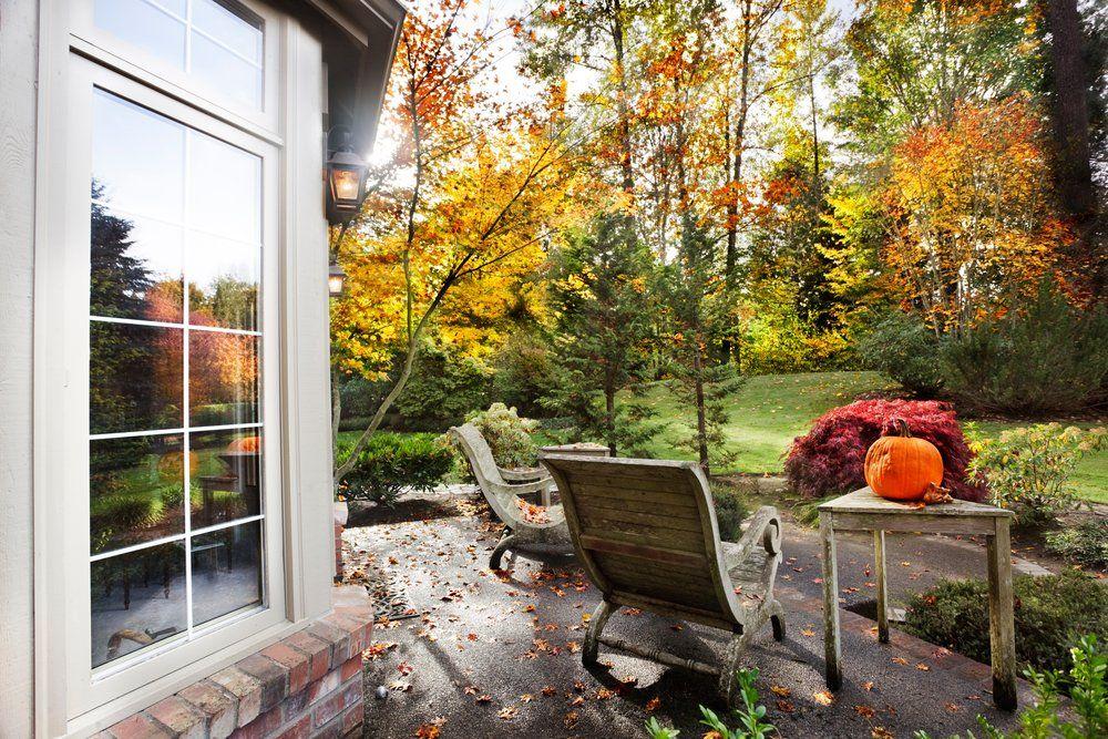 картинки осень на загородном доме стоит прийти