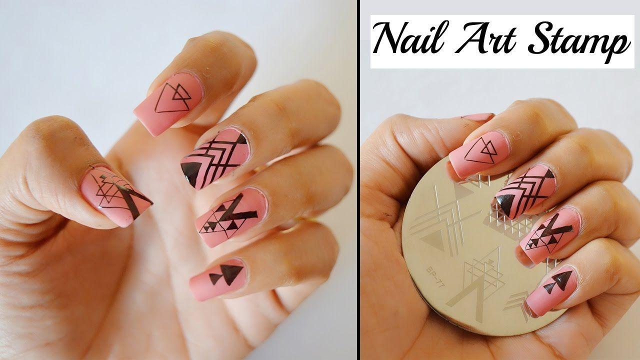 Nail Art Stamp-TUTORIAL | Nail Art | Pinterest | Nail art kits and ...