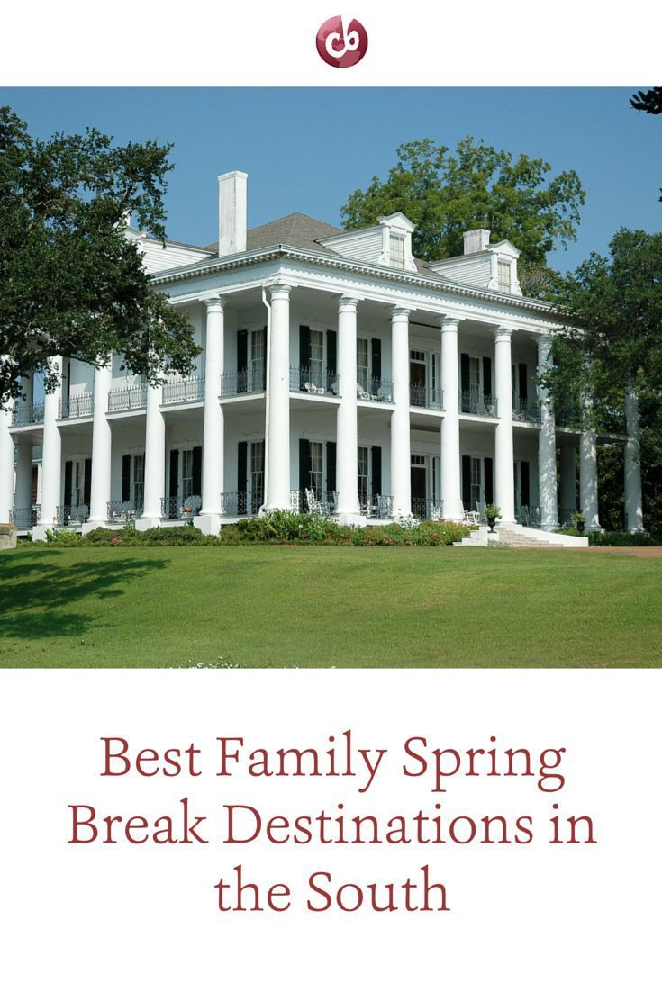 Best places in the South to spend spring break with kids