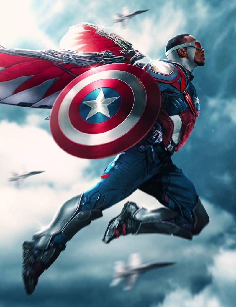 Avengers infinity war costumes falcon captain america - Faucon avengers ...