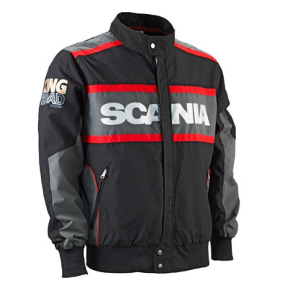 Genuine Scania V8 Logo Mens Men s Racing Truck Jacket L XXL 40 42 44 46  BNWT NEW  d6160e29a2a