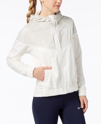 bb5636ce59 Nike Sportswear Windrunner Hooded Jacket - Green XS