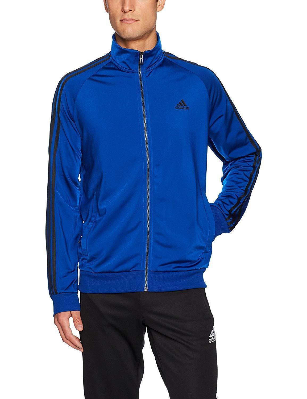 f6ab3e1f7b018 adidas Men's Essentials 3-Stripe Tricot Track Jacket in 2019 ...