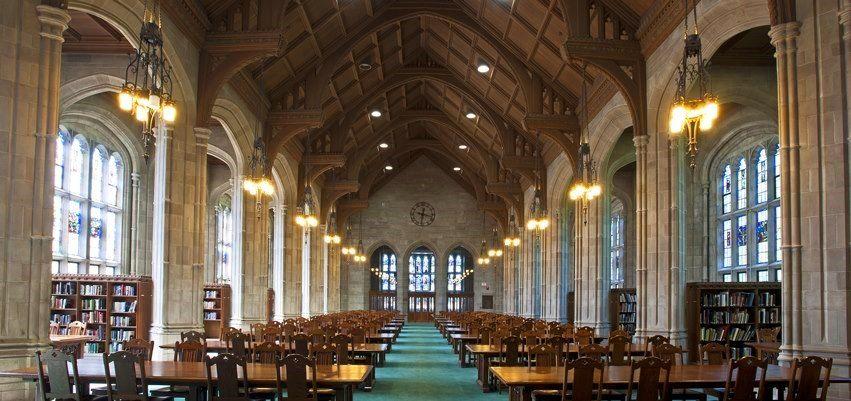 Gargan hall bapst art library boston college boston - Interior design schools in boston ...
