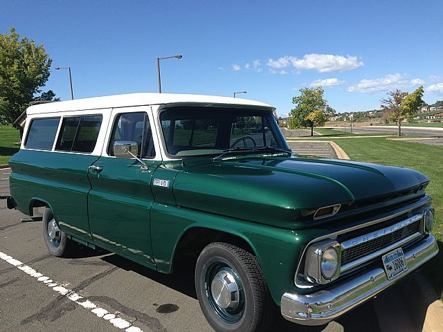 1965 Chevy Suburban 1965 Chevrolet Suburban For Sale Thornton