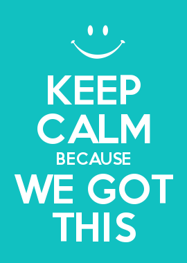 KEEP CALM BECAUSE WE GOT THIS.... PAs have things covered | Clever ...