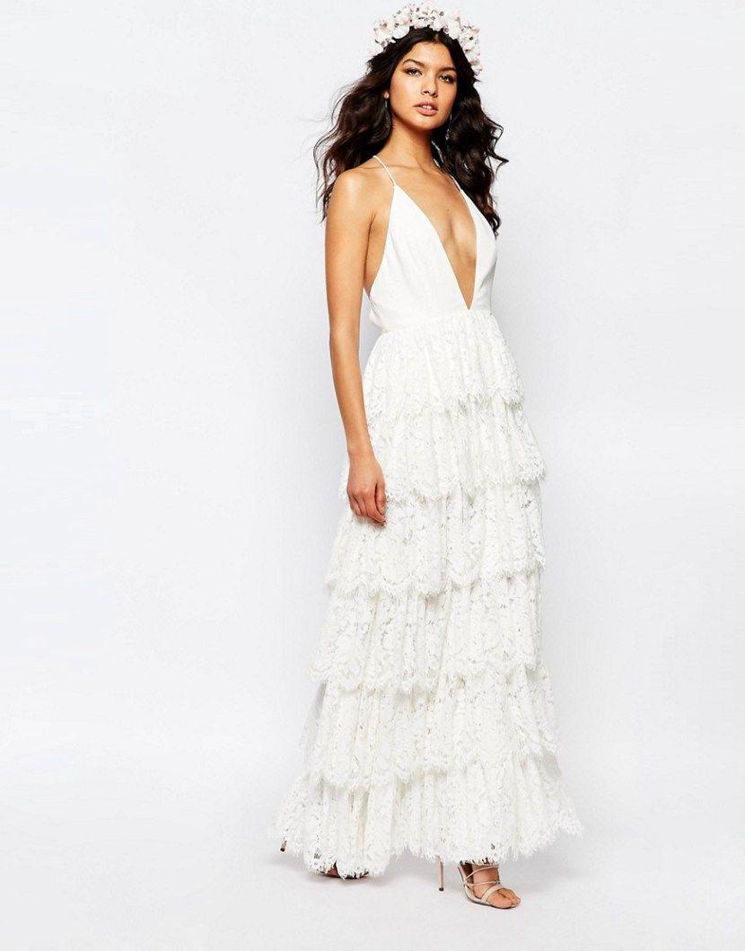 Best beach wedding dresses   Beachy Wedding Dresses for Your Seaside uI Dosu  Beach Dresses