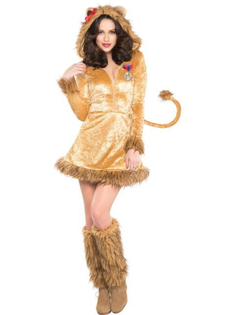 6c4ccd688 Adult Sexy Lioness Costume - Party City | Halloween Ideas | Wizard ...