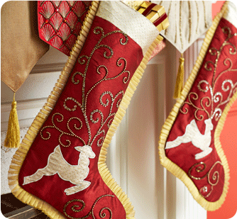 love these red holiday stockings ..hung by the chimney with care..waiting and waiting on St Nick to be there..