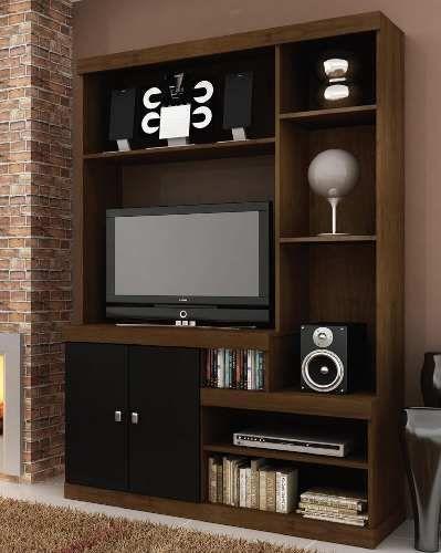 Modular Minimalista Para Tv Lcd Led O Plasma 2 541 00 Muebles Modulares Muebles Flotantes Para Tv Centro De Entretenimiento Minimalista
