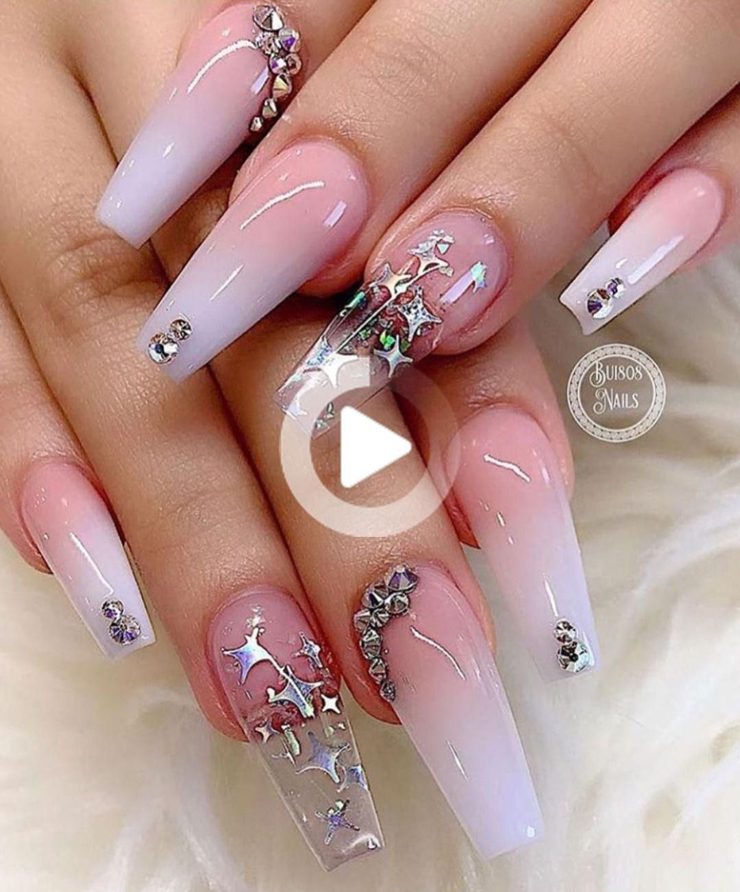 How To Do French Ombre Dip Nails In 2020 Winter Nails Acrylic Dipped Nails Coffin Nails Designs
