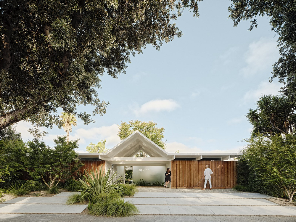 Twin Gable House By Ryan Leidner Architecture In 2020 Gable House Eichler Homes Architecture