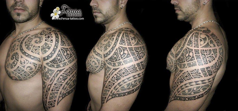 Modele Tatouage Avant Bras Homme Polynesien Tatouges Myweb