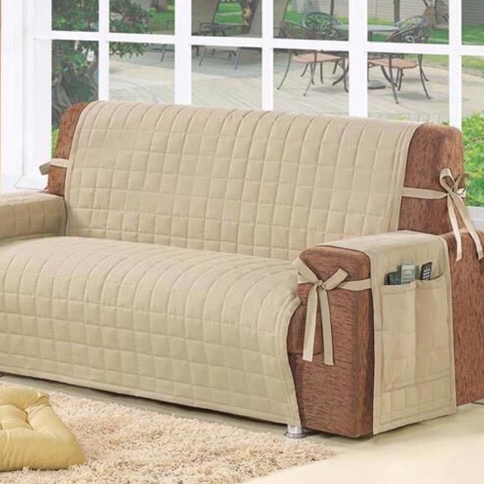 Forrar y protejer fundas forros para sillones - Decorar muebles con tela ...