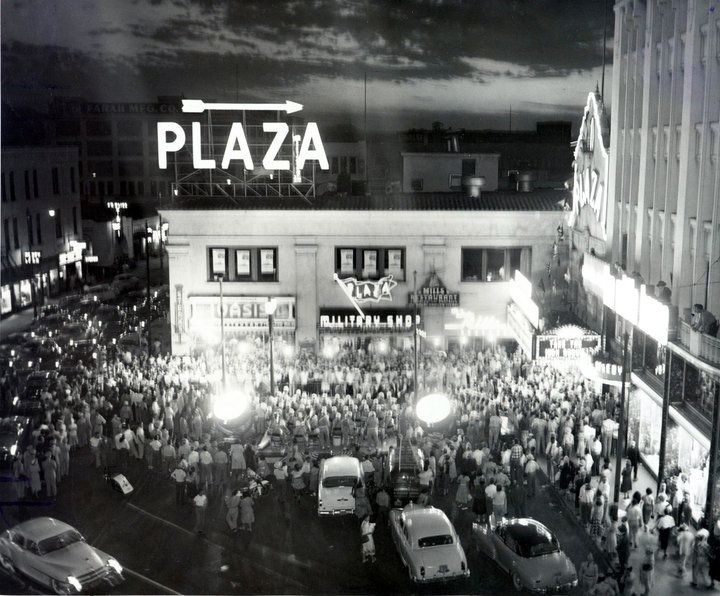 Undated Photo Of The Plaza Theatre In Downtown El Paso History