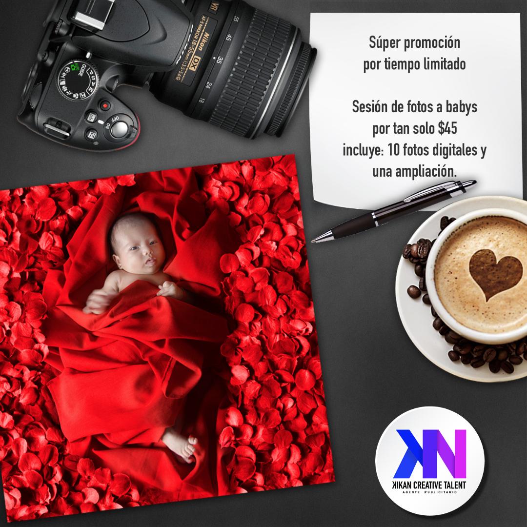 Increíbles paquetes promocionales para fotografías de Bebes. Para ...