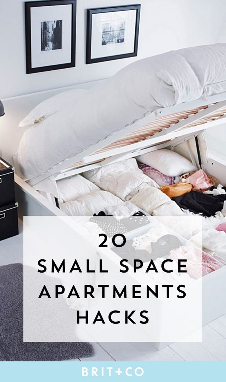 14 Small Space Hacks to Make Your Studio Apt Seem HUGE ...