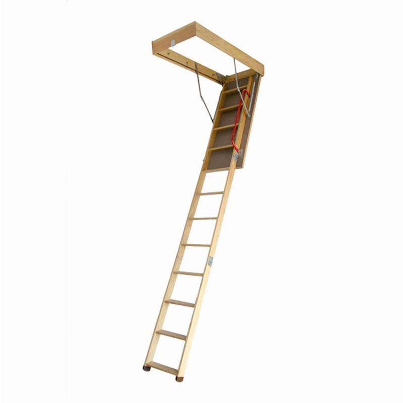 Rhino Wooden Attic Ladder 2 7m Bunnings Warehouse Attic Ladder Attic Renovation Attic Lighting