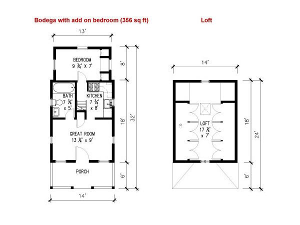 Bodega Study Plans House plans Ladder and The loft