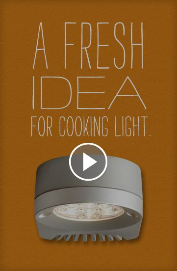 A fresh idea for light cooking come see our full range of under cabinet solutions