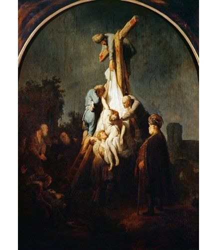 Abraham And Isaac by Rembrandt Painting Giclee Canvas Print Art Home Decor Wall