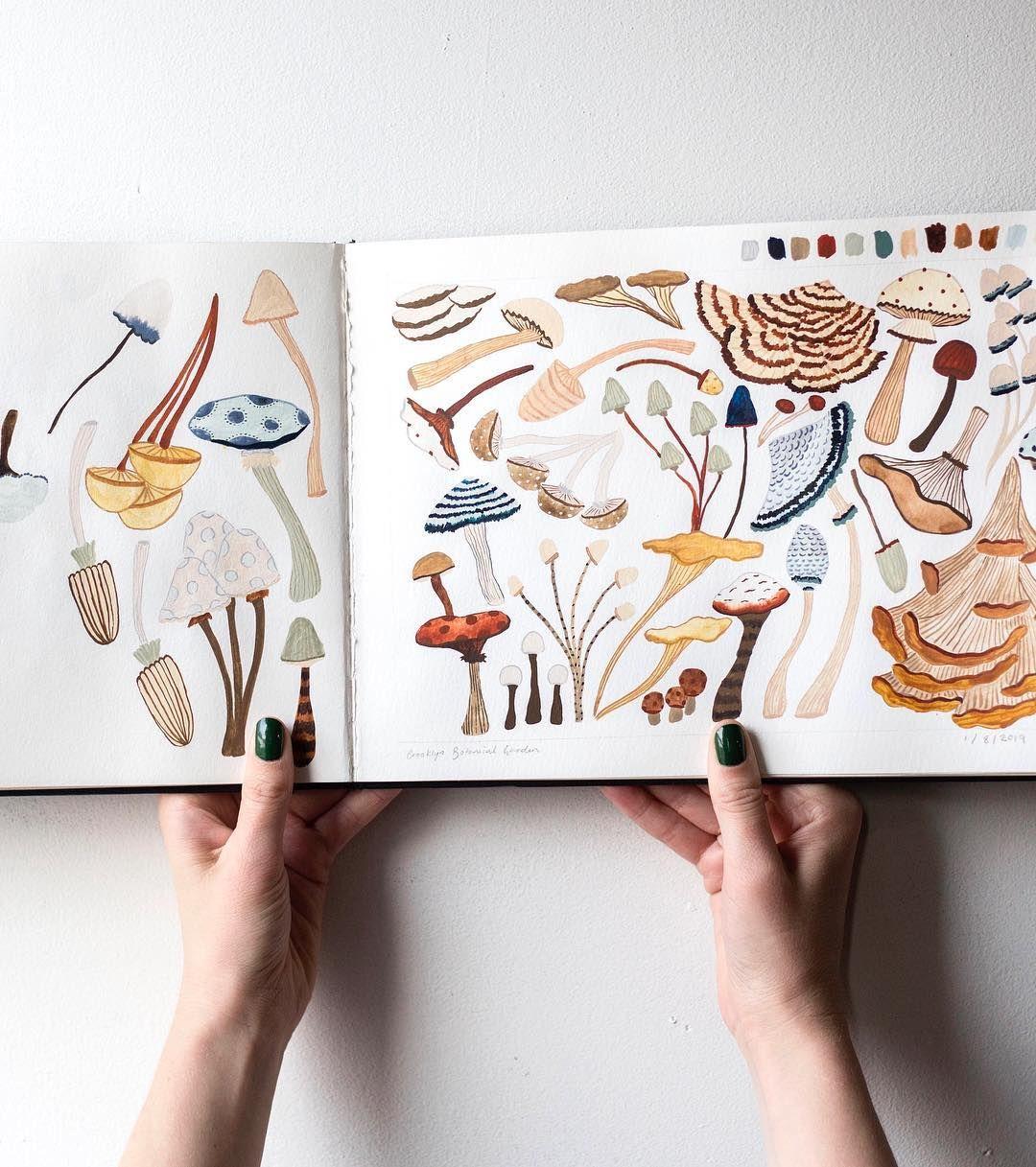 "Sara Boccaccini Meadows on Instagram ""Where the mushrooms"